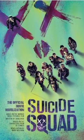 Suicide Squad novelization book cover